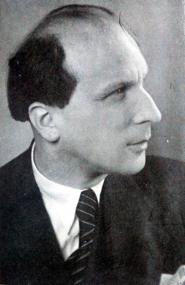 Chorleiter Professor Hugo Herrmann
