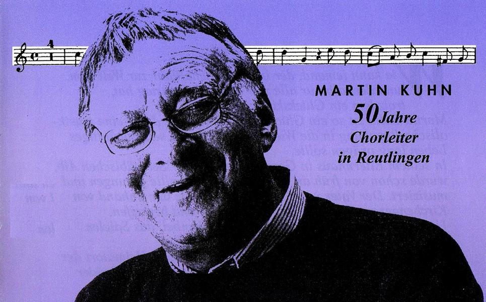 Chorleiter Martin Kuhn