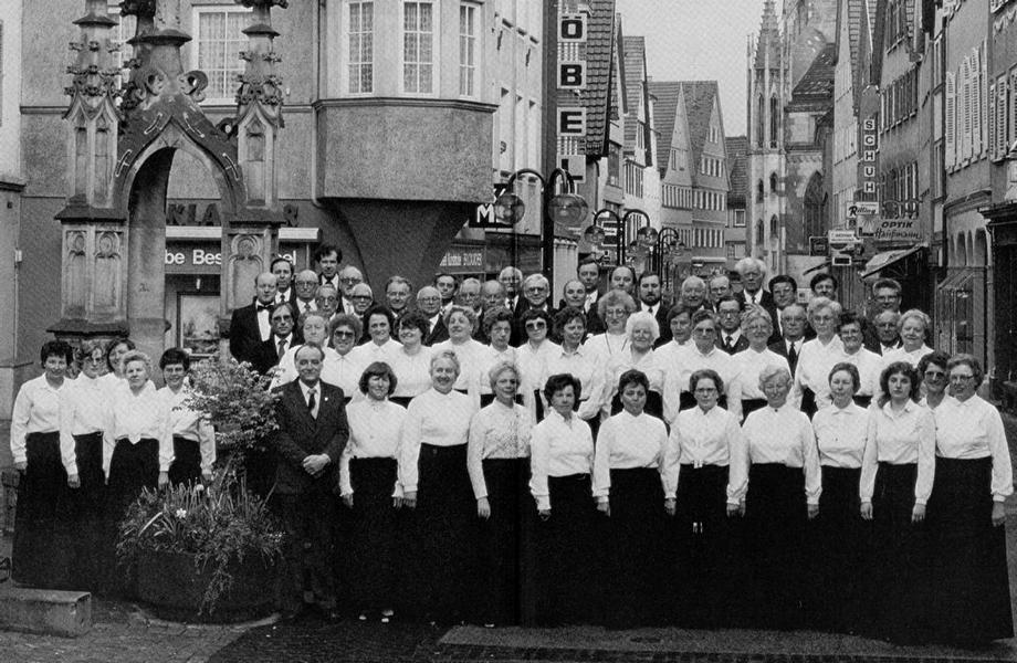 150 Jahre Chorgemeinschaft Liedertafel-Concordia 1833 E. V. Reutlingen